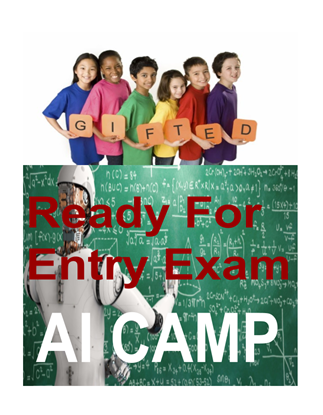 Picture of Ready for Gifted Program Entry Exam AI Camp