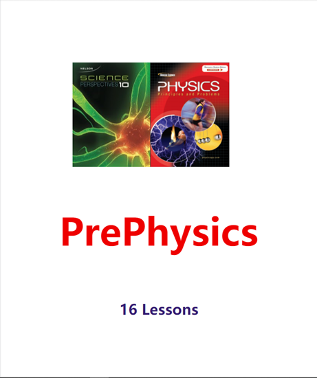 Picture of Pay for Class-Summer PrePhysics MON&THUR